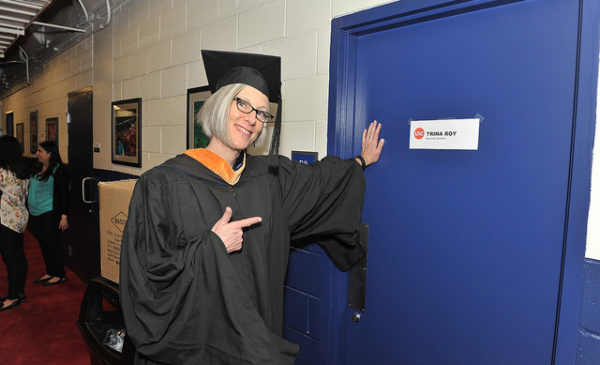 Trina Roy (MS '95)  Delivers commencement address