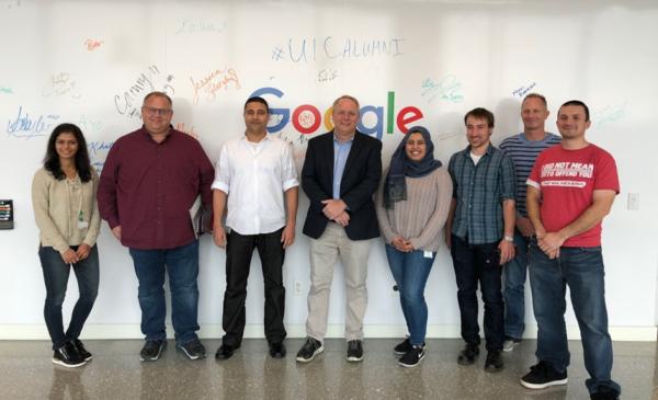 google chicago alumni