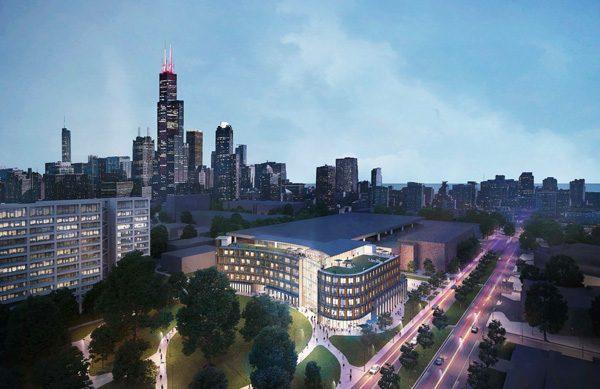 CDRLC building rendering